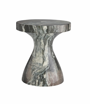 "Katina Short ""Marble"" Side Table"