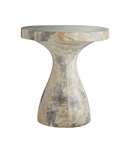 "Katina Tall ""Marble"" Side Table"