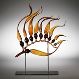 Kelp Sculpture | Amber