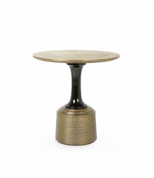 Kelvin Brass Side Table