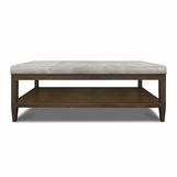 Kennedy Rectangular Coffee Table, Untufted
