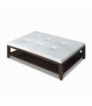Kennedy Rectangular Ottoman, Tufted