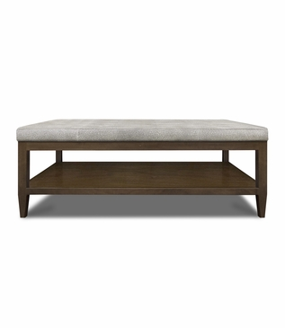 Kennedy Rectangular Ottoman, Untufted