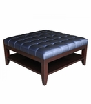 Kennedy Square Coffee Table, Tufted