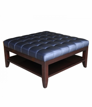 Kennedy Square Ottoman, Tufted