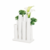 Kenzie Small Vase | White