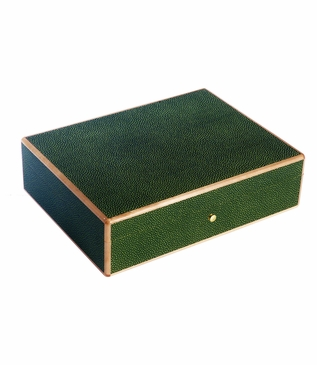 "Kermit ""Shagreen"" Jewelry Box"