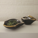 Kero Ceramic Bowls | Gold