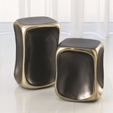 Kero Ceramic Side Tables | Gold