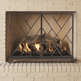 Khaleesi Fireplace Screen | Bronze