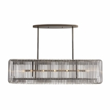 Kidman Chandelier | Brown Nickel
