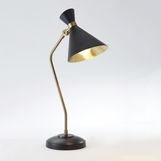 Kinsey Bronze & Brass Desk Lamp