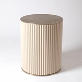 Kipling Side Table | Pale Bronze