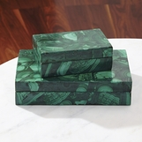 Kivi Stone Boxes | Malachite
