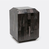 Klondike Petrified Wood Stool | Dark