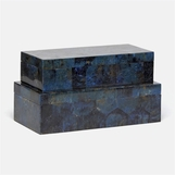 Kobe Shell Boxes Set | Blue