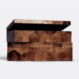 Kobe Shell Boxes Set | Brown
