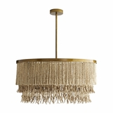 Koju Wood Chandelier | Natural