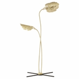 Kokomo Floor Lamp | Brass