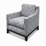Kresley Chair, Patterned Fabric