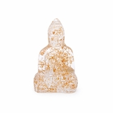 Kwan Glass Buddha | Gold