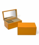 Lacquer Jewelry Box | Orange