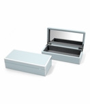 Lacquer Trinket Box | Icy Blue