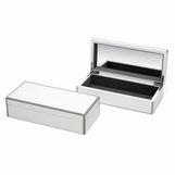 Lacquer Trinket Box | White