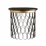 Lafayette Side Table | Black