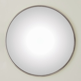 Lamar Convex Mirrors | Nickel