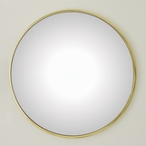 Lamar Wall Mirrors | Brass