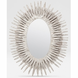 Lannister Oval Mirror | Silver