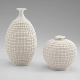 Caroline Lattice Ceramic Vases