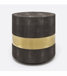 "Lavin ""Shagreen"" Side Table 