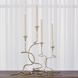 Lavinia Large Candlesticks Sets | Brass