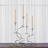 Lavinia Large Candlesticks Sets | Nickel