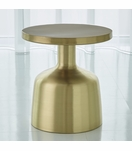 Lawrence Side Table | Brass