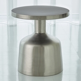 Lawrence Side Table | Nickel