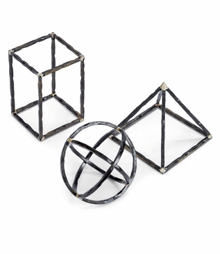 Lecture Iron Shape Objects Set