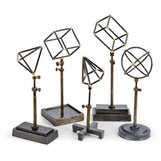 Lecture Iron Shape Sculptures Set