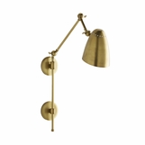 Leland Adjustable Sconce | Brass