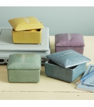 Lennox Faux Shagreen Boxes | Square