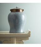 Lennox Faux Shagreen Jar | Tall