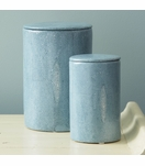 "Lennox ""Shagreen"" Jars Set 