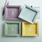 "Lennox ""Shagreen"" Ceramic Trays"