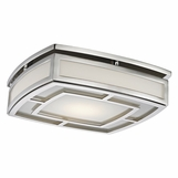Leonard Flush Mount | Polished Nickel