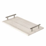Leto Marble Tray | Nickel
