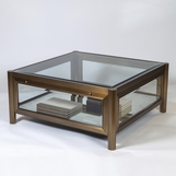 Levitt Glass Coffee Table