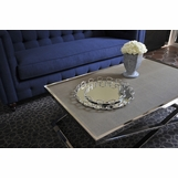 Liberty Mirrored Trays | Nickel