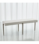 Lila Bench Large | Antique Gold
